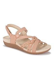 Jewel Sling Back Sandals