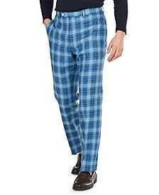 Men's Classic-Fit Plaid Dress Pants