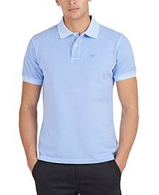 Men's Classic-Fit Washed Sports Polo