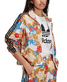 Women's Printed Active Track Jacket