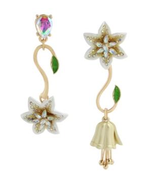 Lily Flower Mismatch Earrings