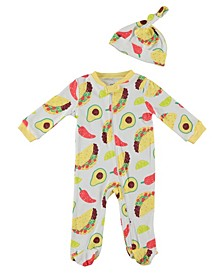 Baby Boys Taco Coverall, Set of 2