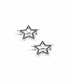 Women's Star Magnetic Barrette Set, Pack of 2