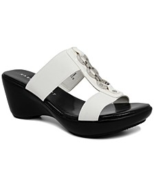 Pimaa Slide-On Wedge Sandals, Created for Macy's