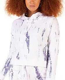 Petite Cloud Tie-Dyed Pullover Hoodie
