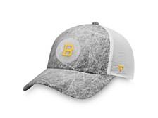 Authentic Headwear Boston Bruins Ice Field Trucker Cap