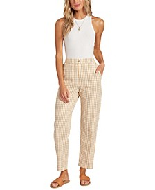 Women's Checkmate Cropped Pants