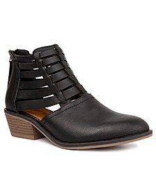 Women's Embiee Cut Out Booties