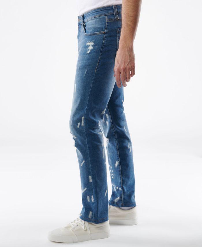 Lazer Men's Slim-Fit Stretch Jeans & Reviews - Jeans - Men - Macy's