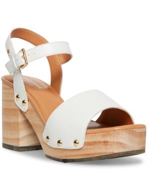 Women's Rubyy Wooden Platform Sandals