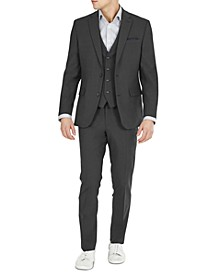 Men's Slim-Fit Solid Wool Suit Separates, Created for Macy's