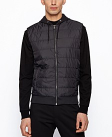 BOSS Men's Hooded Gilet