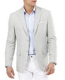 Men's Slim-Fit Solid Weave Blazer