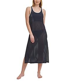 Mesh Racerback Dress Cover-Up