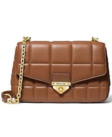 Soho Quilted Leather Shoulder Bag