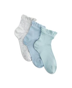 Women's Silk Summer Ruffle Anklet Socks