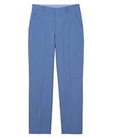 Big Boys Micro Seersucker Gingham Pants