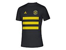 Men's Columbus Crew Three Stripe Life Pitch Creator T-Shirt