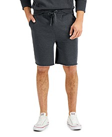 "Men's Regular-Fit Garment-Dyed 8"" Fleece Shorts, Created for Macy's"