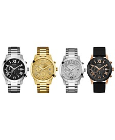 Men's Chronograph Bracelet Watch 45mm