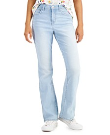 High-Rise Curvy-Fit Bootcut Jeans, Created for Macy's