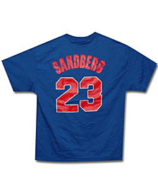 Majestic Men's Chicago Cubs Cooperstown Player Ryne Sandberg T-Shirt