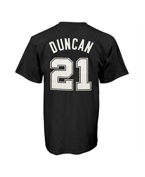 38d2499ff9f adidas Men's San Antonio Spurs Tim Duncan Player T-Shirt & Reviews ...