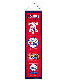 Winning Streak Philadelphia 76ers Heritage Banner