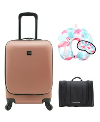 Alise Collection 4-Piece Hard-side Carry-On Set