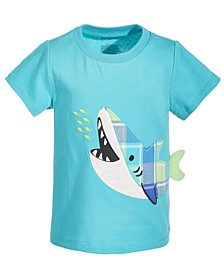 Toddler Boys Hungry Shark Cotton T-Shirt, Created for Macy's