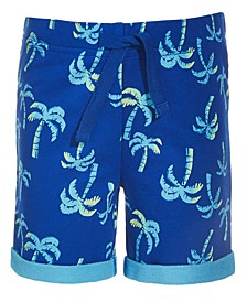 Toddler Boys Palm Tree Shorts, Created for Macy's