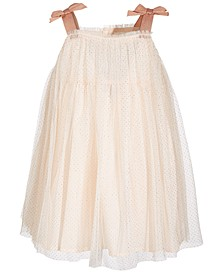 Baby Girls Sparkle Dress & Bloomer Set, Created for Macy's