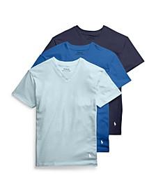 Big Boys Ribbed V-neckline Undershirt, 3-piece Set