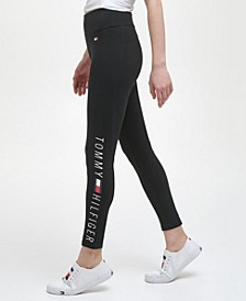 High Rise Full Length Logo Legging