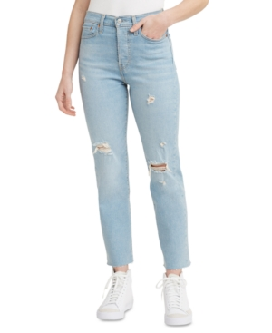 Levi's WOMEN'S WEDGIE STRAIGHT-LEG CROPPED JEANS