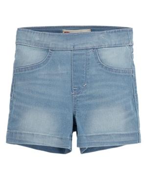 Levi's Shorts LITTLE GIRLS PULL-ON SHORTY SHORTS