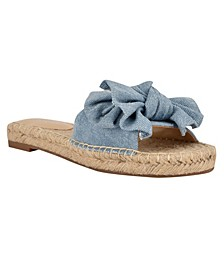 Women's Bow Slide Sandals
