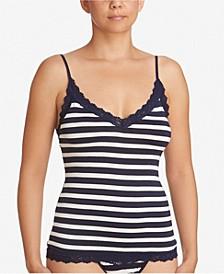 Women's Stripe Jersey Lingerie Camisole