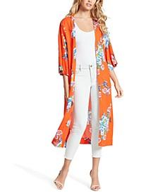 Gwendelin Printed Kimono