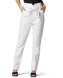Remi Paperbag-Waist Jeans