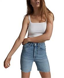 Women's Stretch Slim Denim Bermuda Shorts