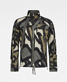 Men's Utility Herringbone Tape Jacket