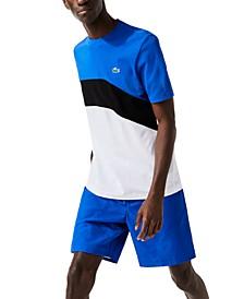 Men's SPORT Ultra-Light Colorblock Cotton Tennis T-shirt