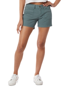 Unionbay Shorts JUNIORS' DARCY STRETCH TWILL SHORTS
