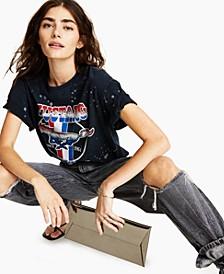 Mustang Splatter-Print T-Shirt