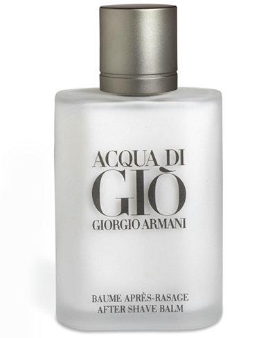 Giorgio Armani Acqua di Giò Pour Homme Aftershave Balm, 3.4 oz.