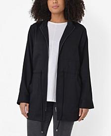 Plus Size Tencel Utility Jacket