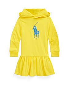 Toddler Girls Big Pony Cotton Jersey T-shirt Dress