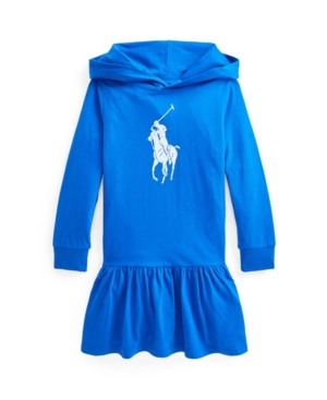 Polo Ralph Lauren Cottons TODDLER GIRLS BIG PONY COTTON JERSEY T-SHIRT DRESS