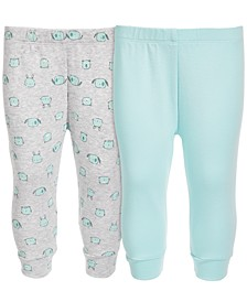 Baby Boys & Girls Cotton Jogger Pants Set, Created for Macy's
